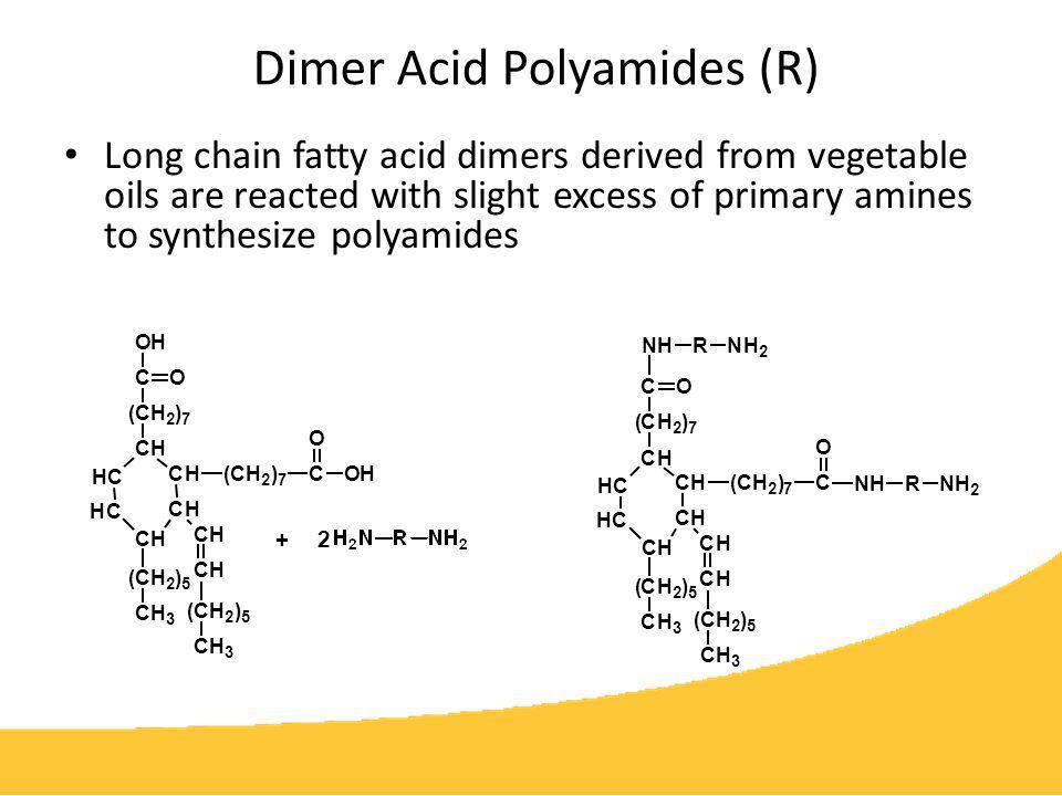 Dimer Acid Polyamides (R)