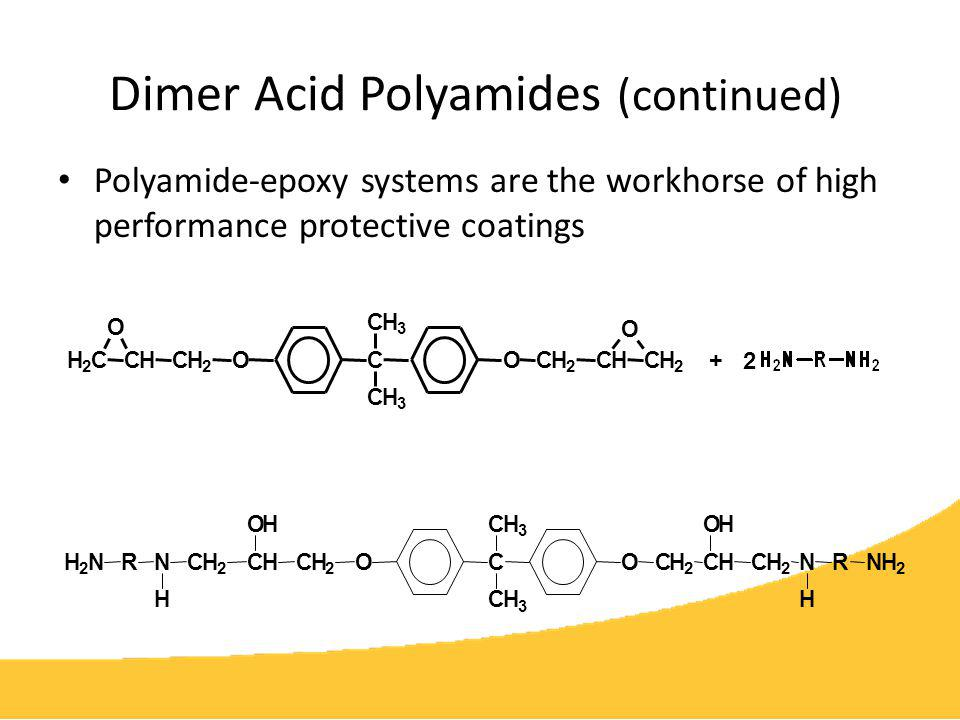 Dimer Acid Polyamides (continued)