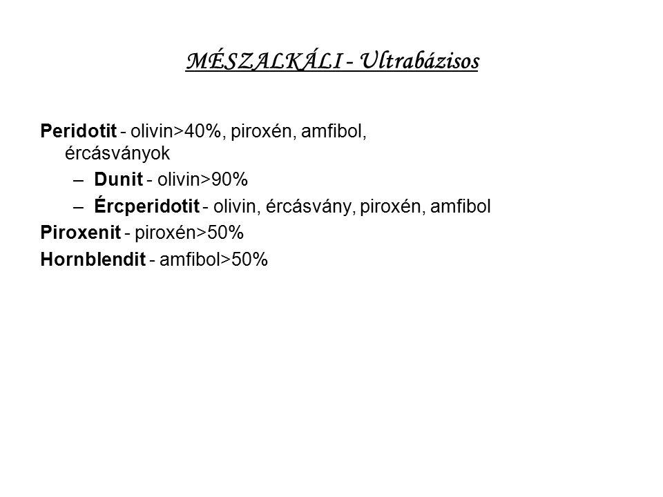 MÉSZALKÁLI - Ultrabázisos