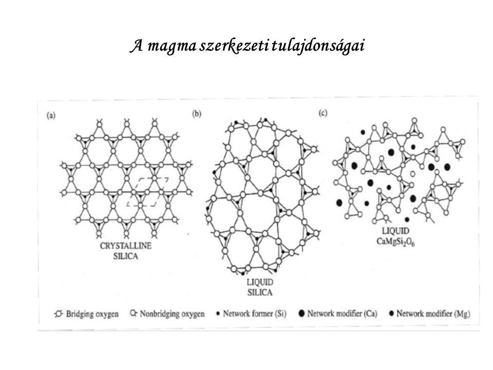 A magma szerkezeti tulajdonságai