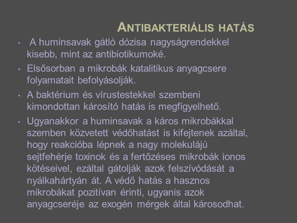 Antibakteriális hatás