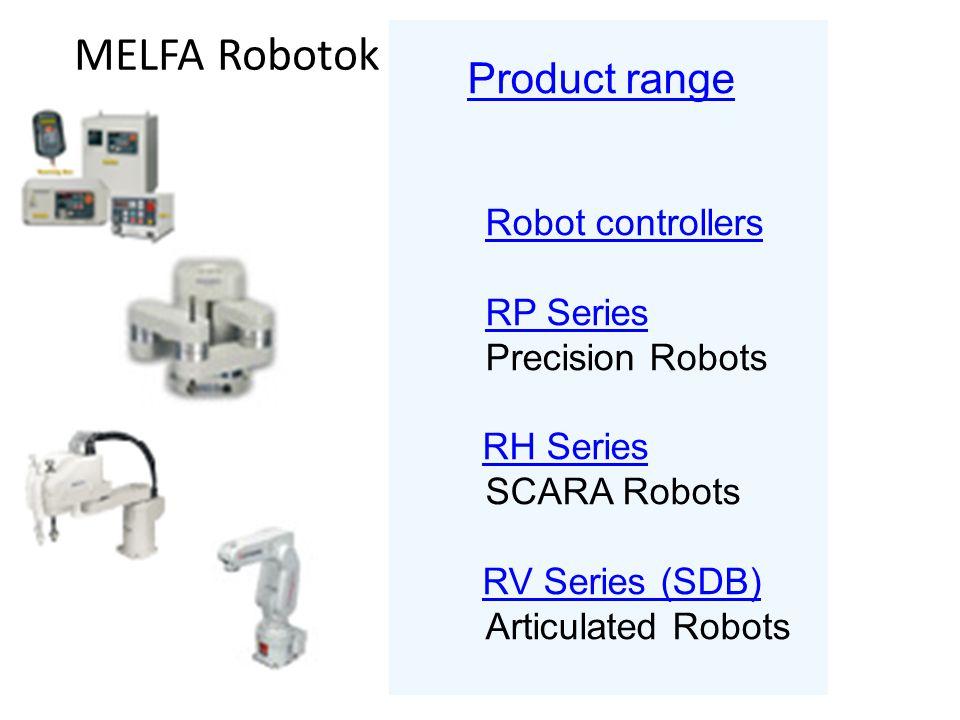 MELFA Robotok Robot controllers RP Series Precision Robots