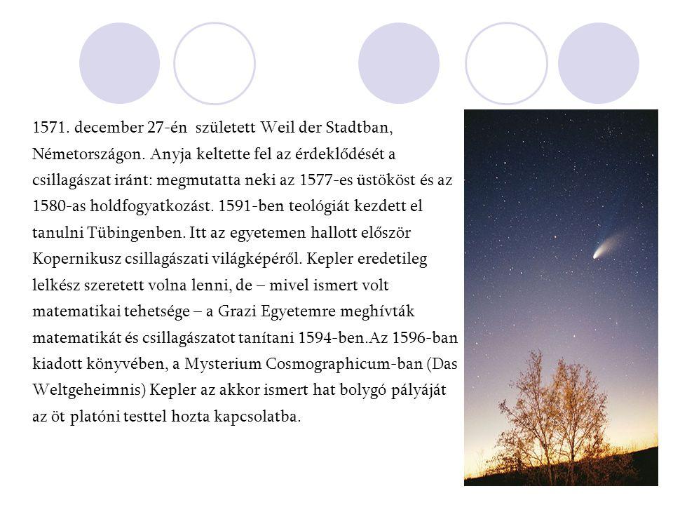 1571. december 27-én született Weil der Stadtban, Németországon