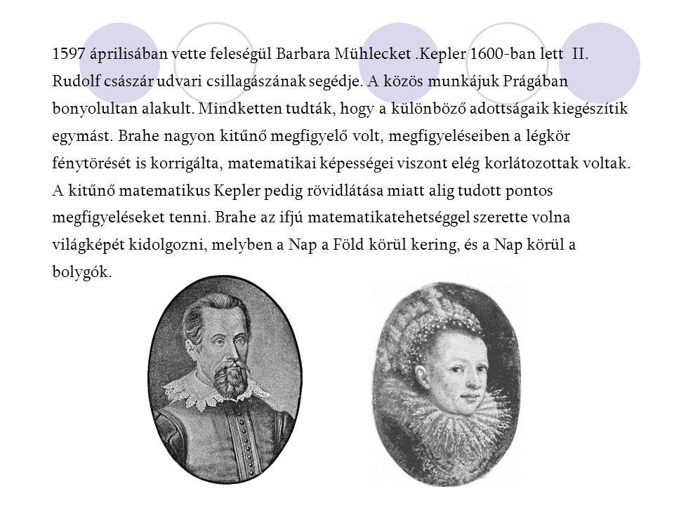 1597 áprilisában vette feleségül Barbara Mühlecket