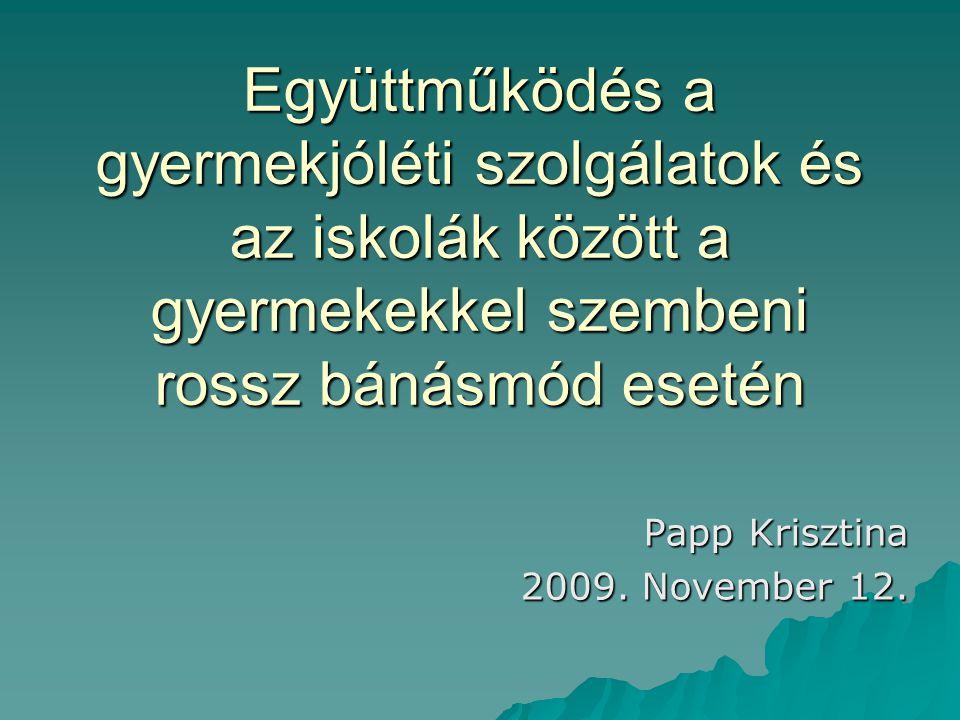 Papp Krisztina 2009. November 12.