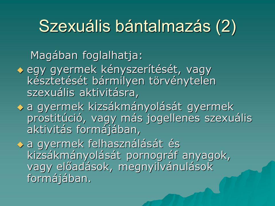 Szexuális bántalmazás (2)