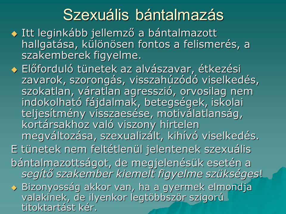 Szexuális bántalmazás