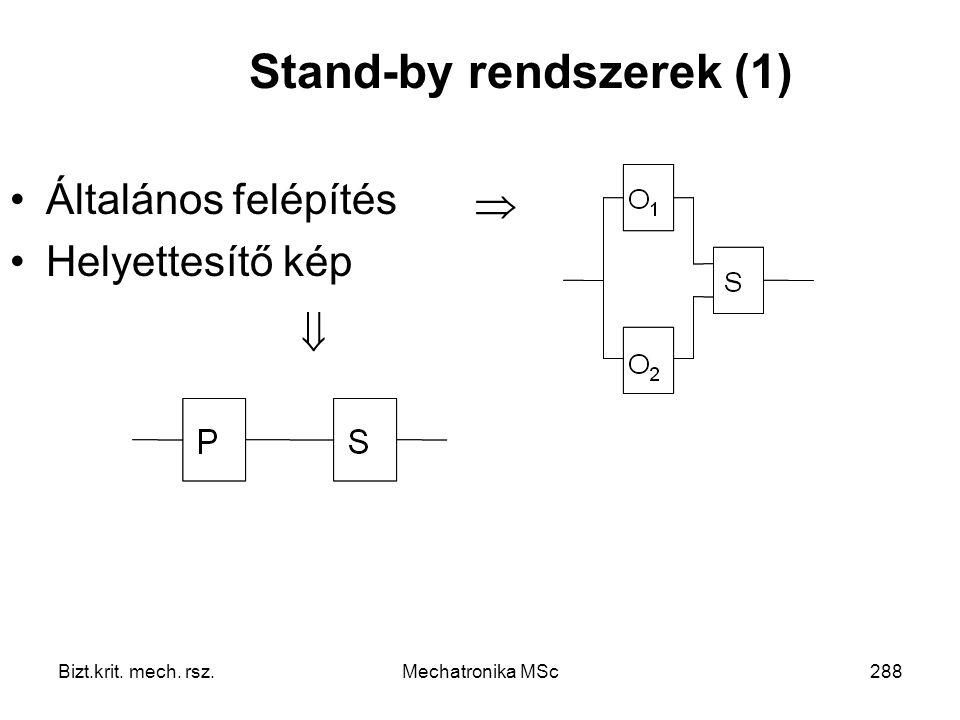 Stand-by rendszerek (1)