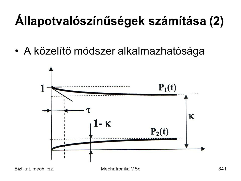 Állapotvalószínűségek számítása (2)