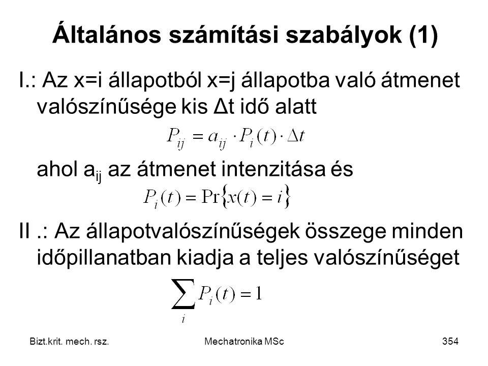 Általános számítási szabályok (1)