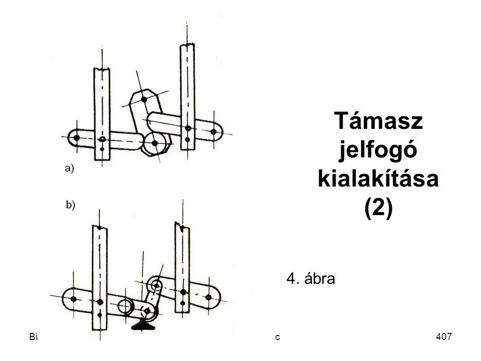Támasz jelfogó kialakítása (2)