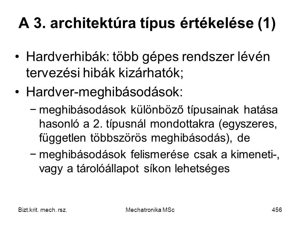 A 3. architektúra típus értékelése (1)