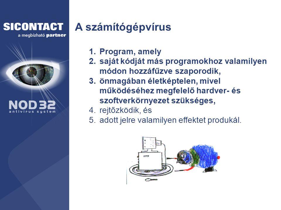 A számítógépvírus Program, amely