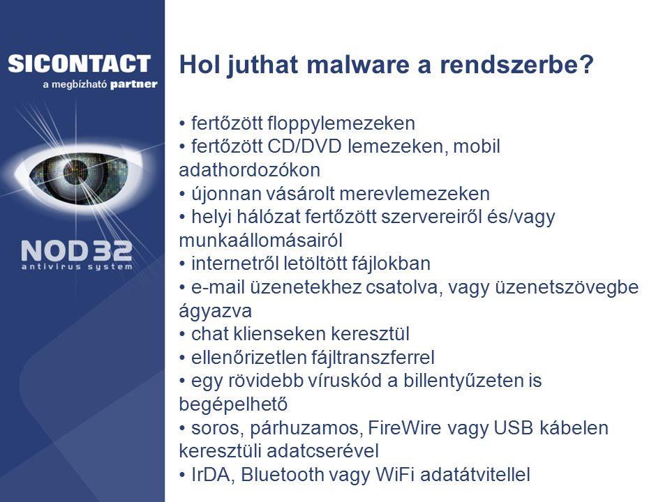 Hol juthat malware a rendszerbe