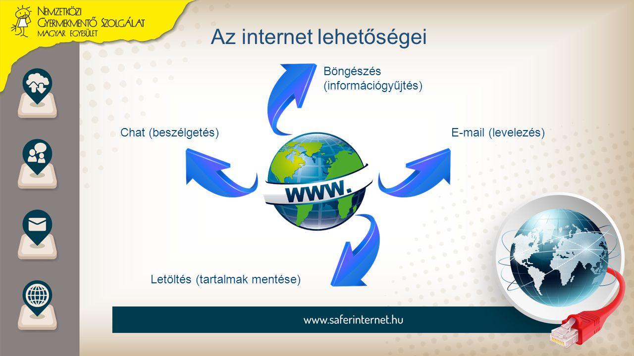 Az internet lehetőségei