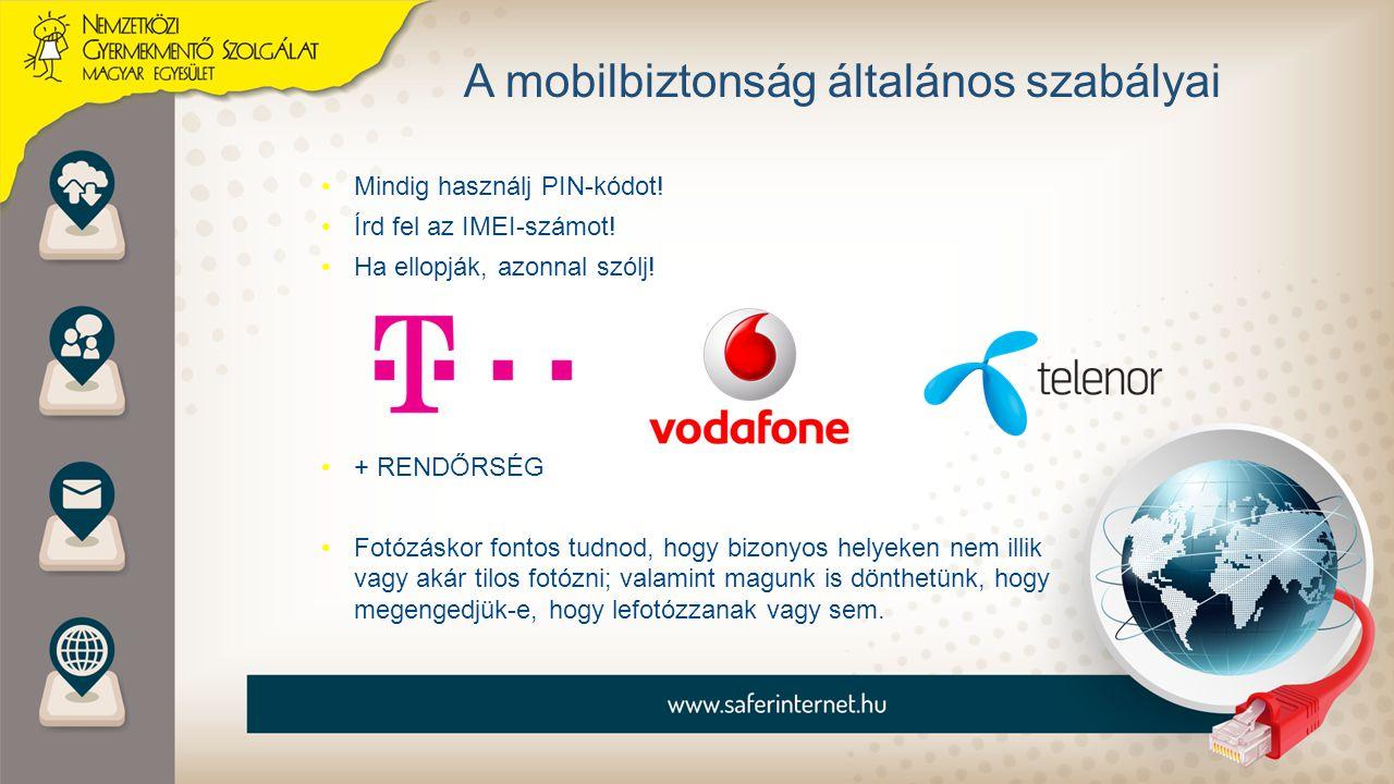 A mobilbiztonság általános szabályai