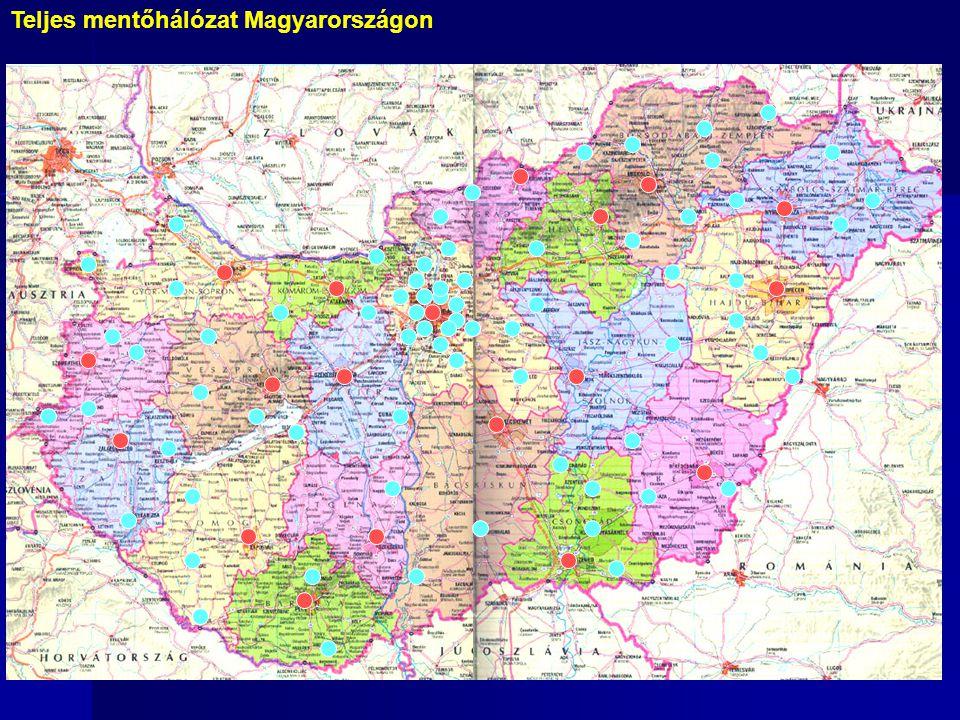 Teljes mentőhálózat Magyarországon