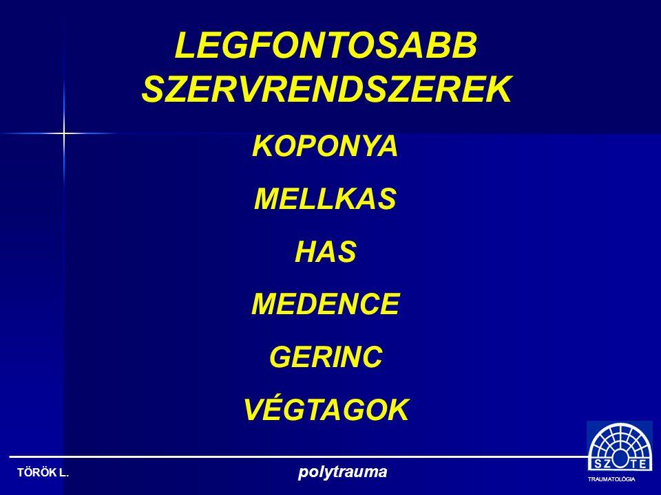 LEGFONTOSABB SZERVRENDSZEREK