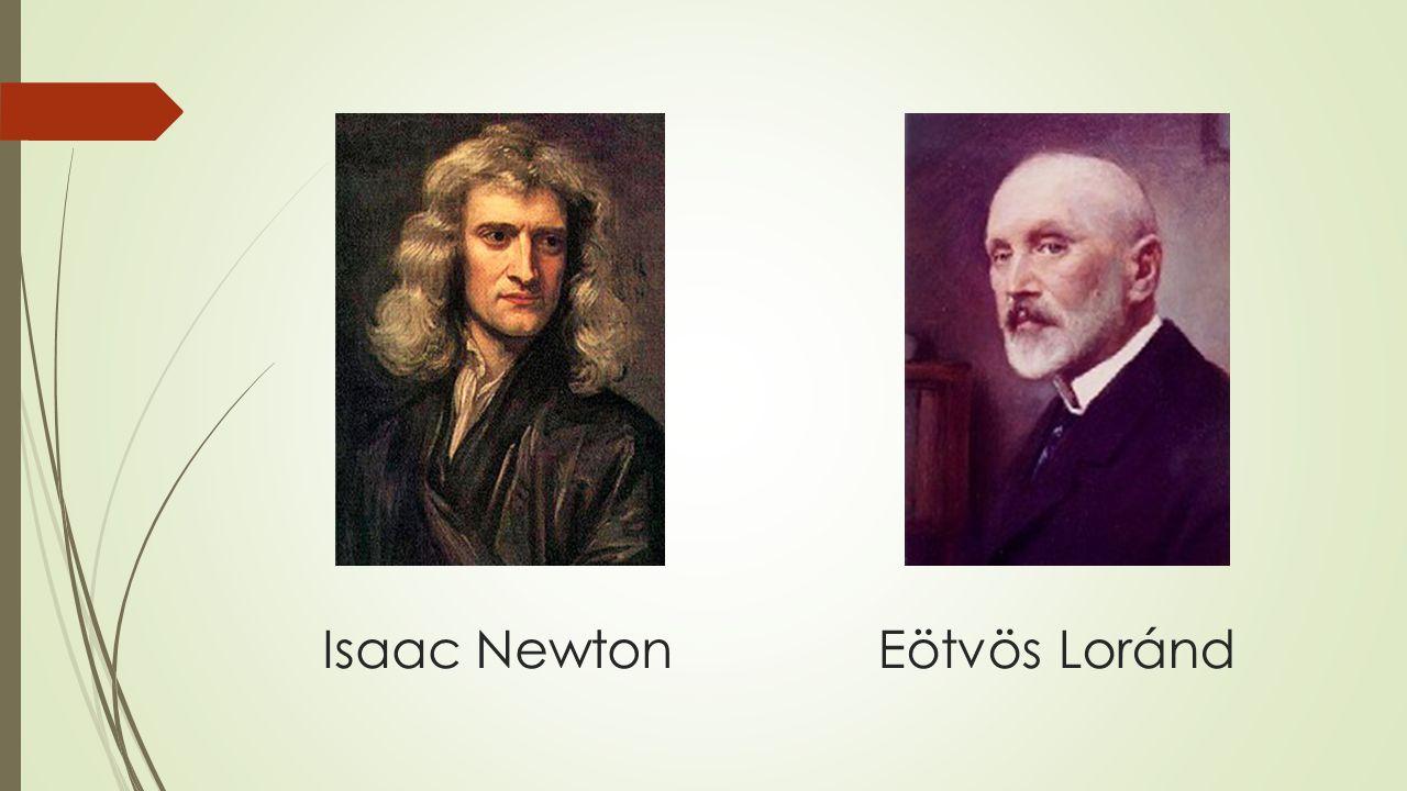 Isaac Newton Eötvös Loránd