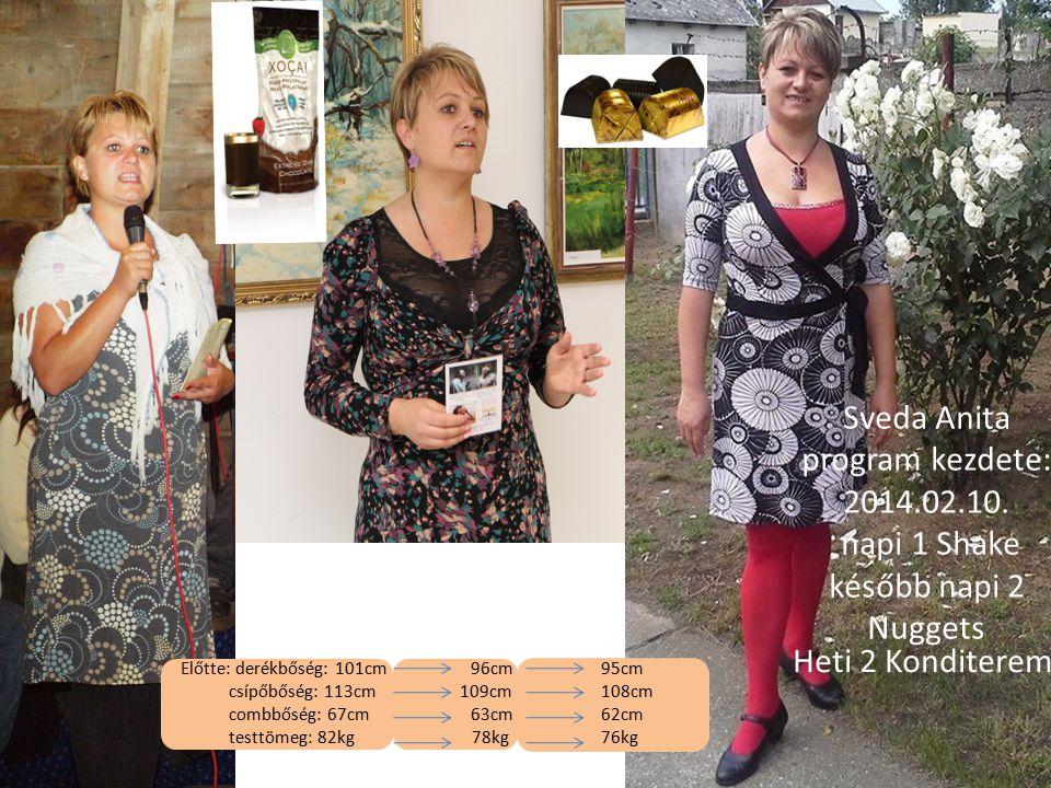 Sveda Anita program kezdete: 2014. 02. 10