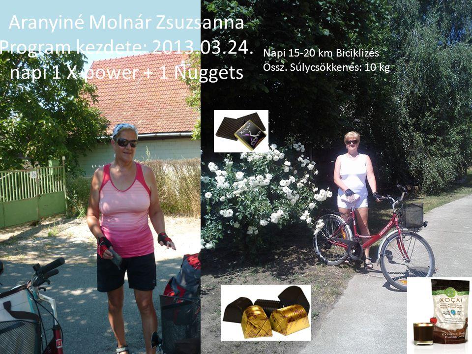 Aranyiné Molnár Zsuzsanna Program kezdete: 2013. 03. 24