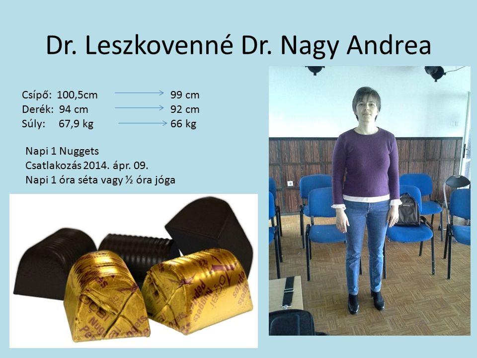 Dr. Leszkovenné Dr. Nagy Andrea