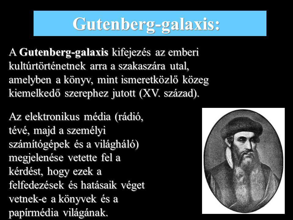 Gutenberg-galaxis: