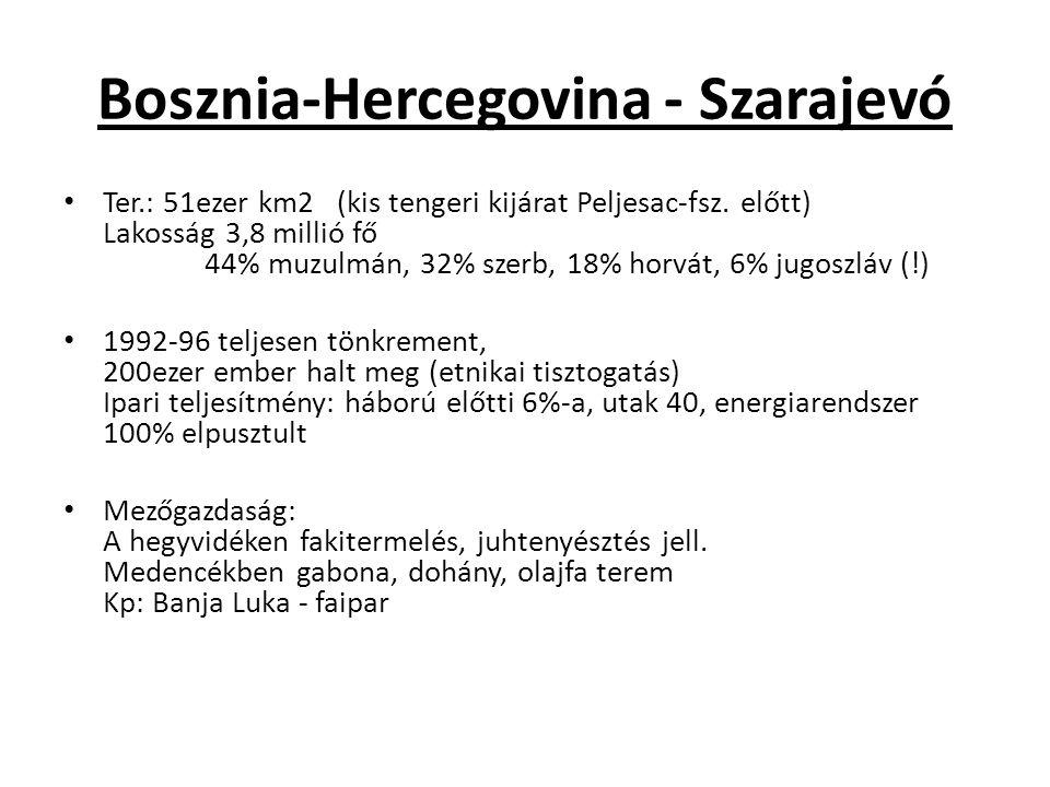 Bosznia-Hercegovina - Szarajevó