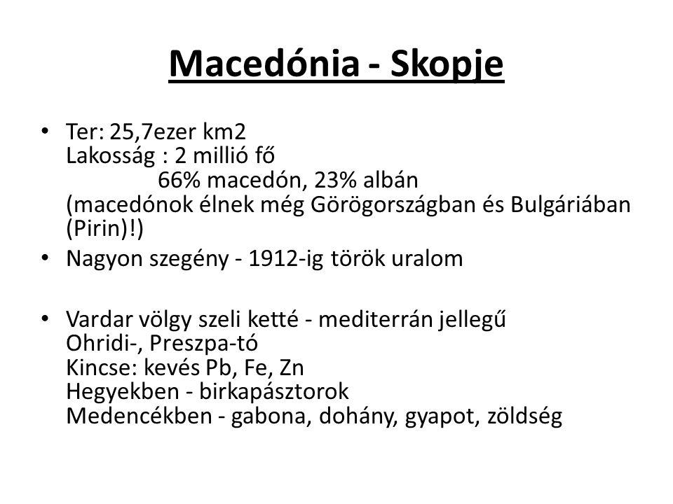 Macedónia - Skopje