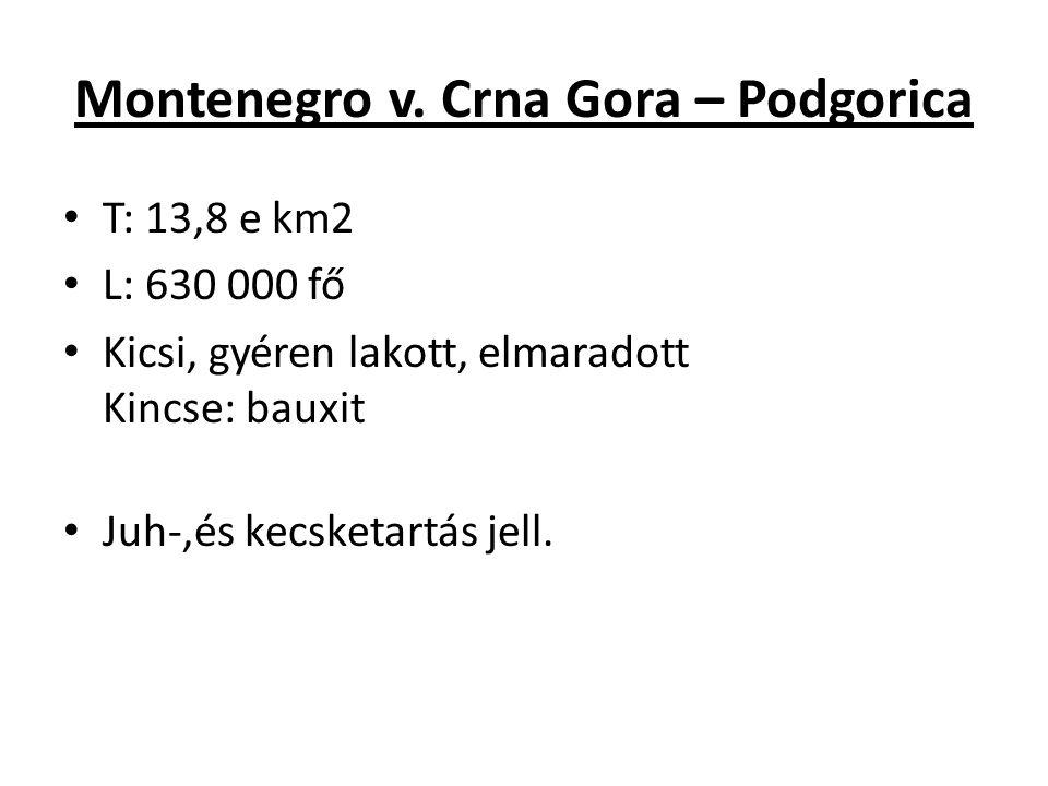 Montenegro v. Crna Gora – Podgorica