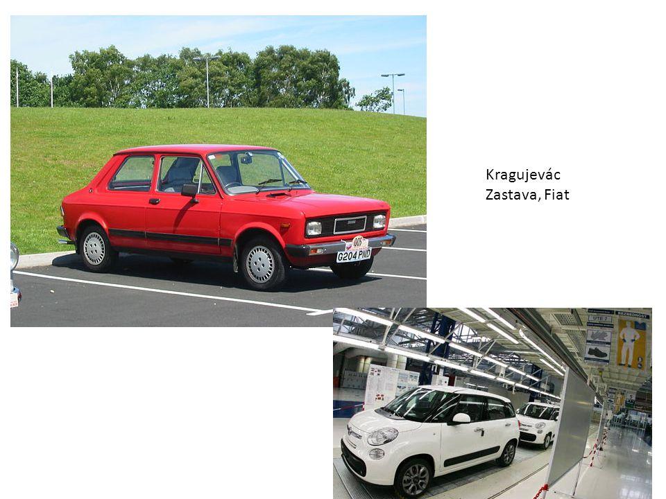 Kragujevác Zastava, Fiat