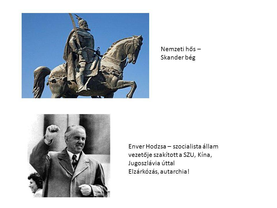 Nemzeti hős – Skander bég