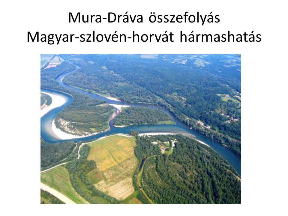 Mura-Dráva összefolyás Magyar-szlovén-horvát hármashatás
