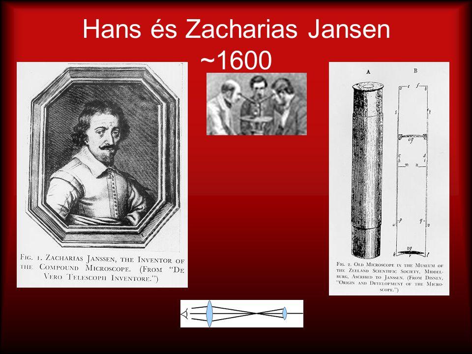 Hans és Zacharias Jansen ~1600