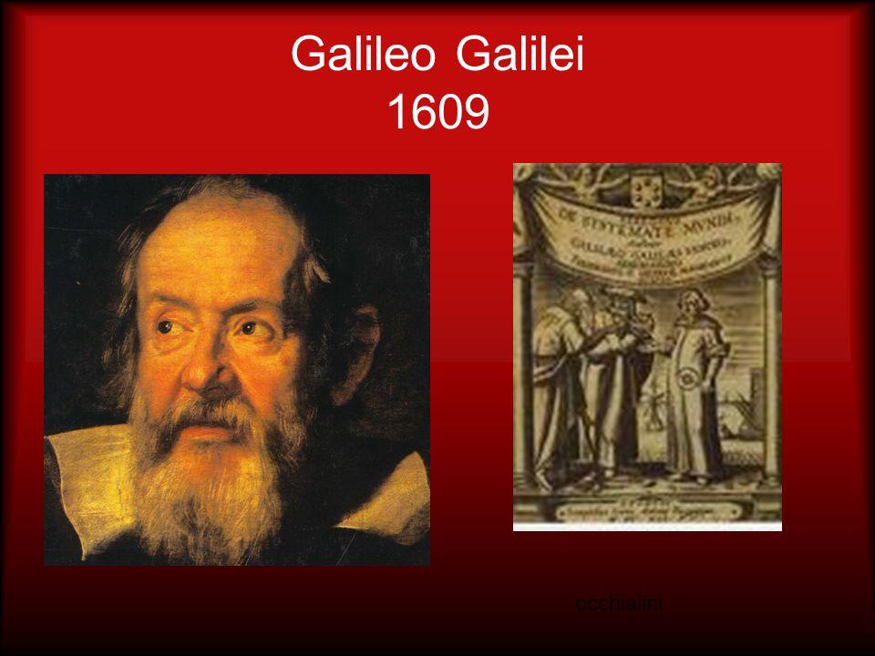 Galileo Galilei 1609 occhialini