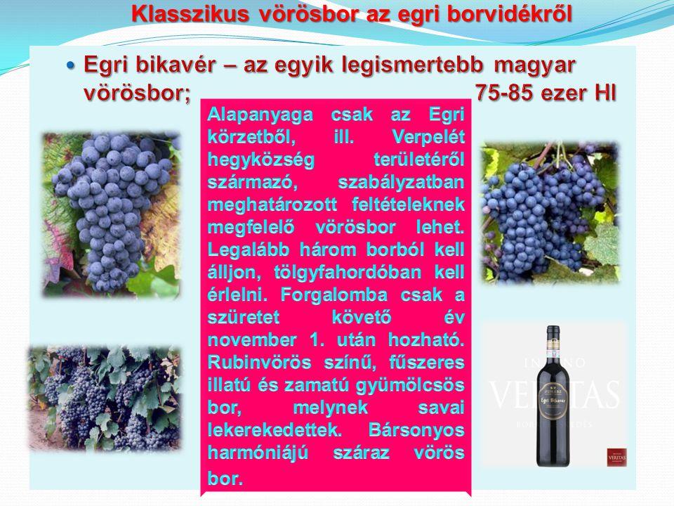 Klasszikus vörösbor az egri borvidékről