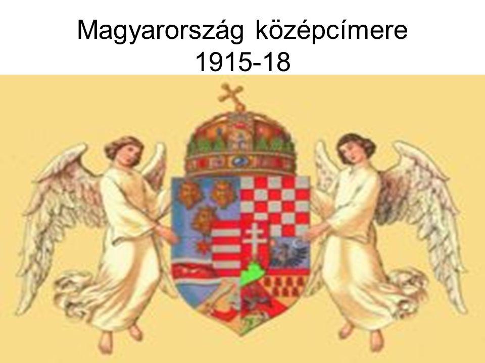 Magyarország középcímere 1915-18