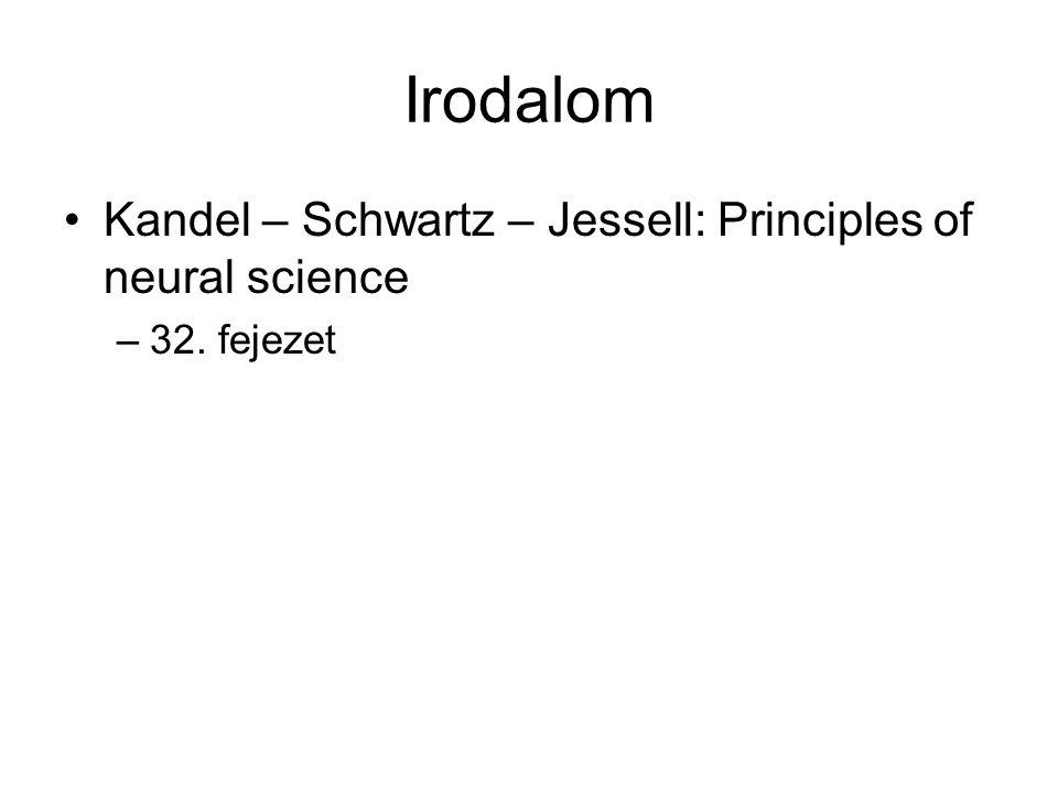 Irodalom Kandel – Schwartz – Jessell: Principles of neural science