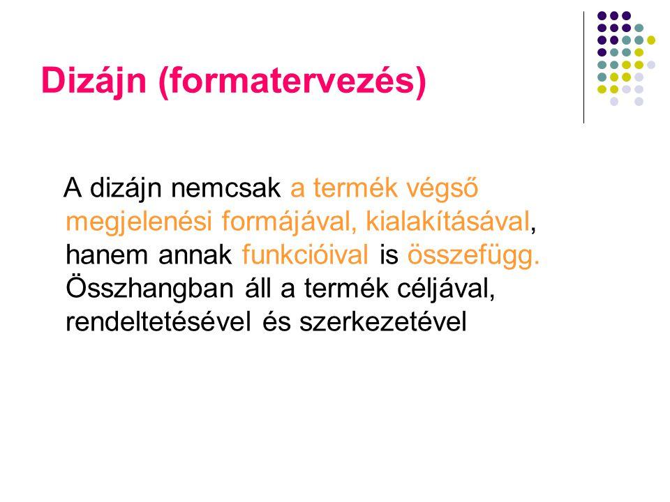 Dizájn (formatervezés)