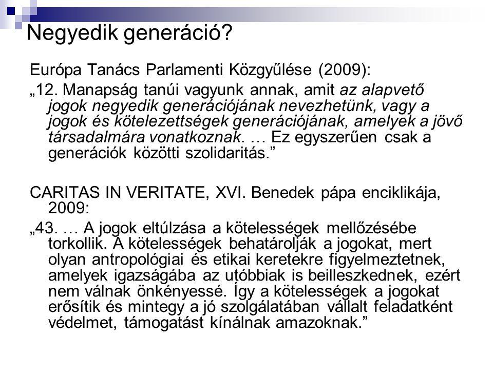 Negyedik generáció Európa Tanács Parlamenti Közgyűlése (2009):