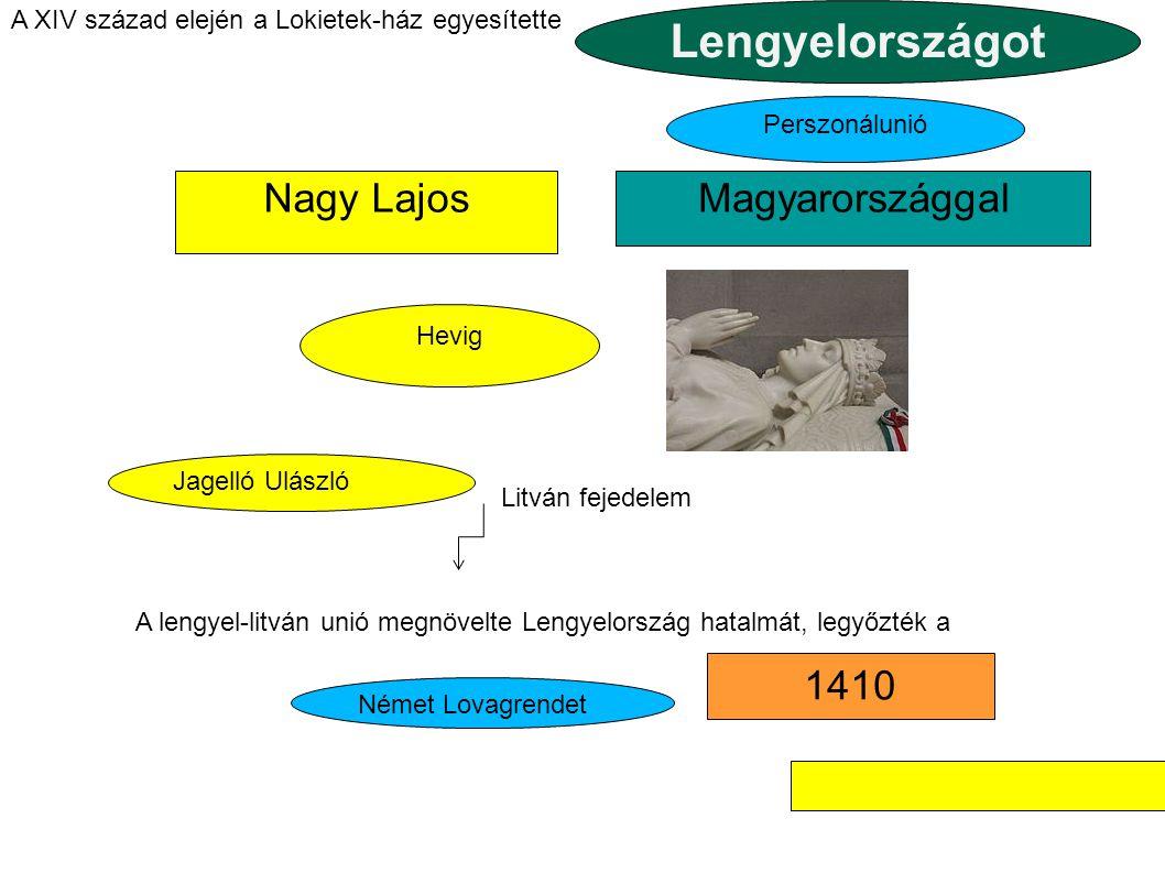 Lengyelországot Nagy Lajos Magyarországgal 1410