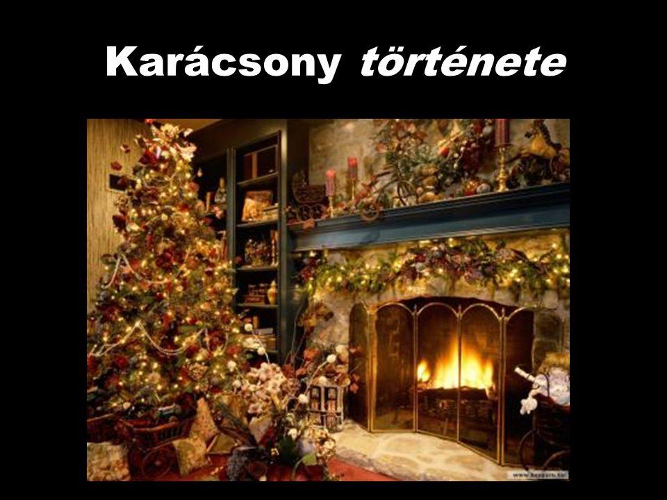 Karácsony története