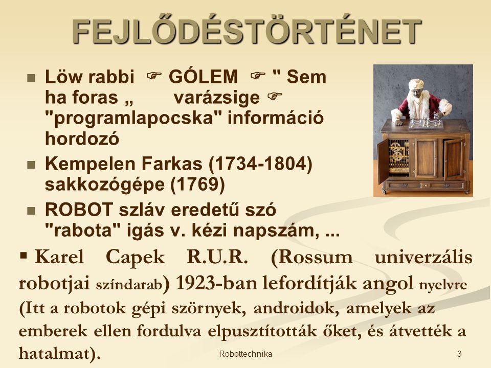 """FEJLŐDÉSTÖRTÉNET Löw rabbi  GÓLEM  Sem ha foras """" varázsige  programlapocska információ hordozó."""