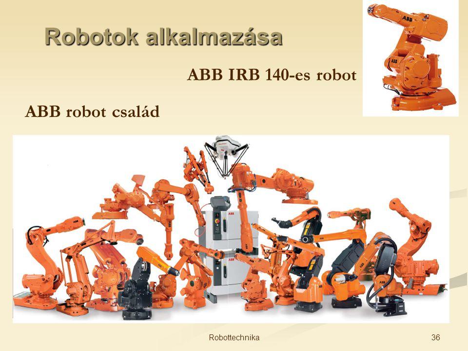Robotok alkalmazása ABB IRB 140-es robot ABB robot család