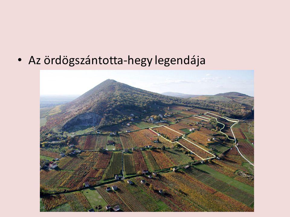 Az ördögszántotta-hegy legendája