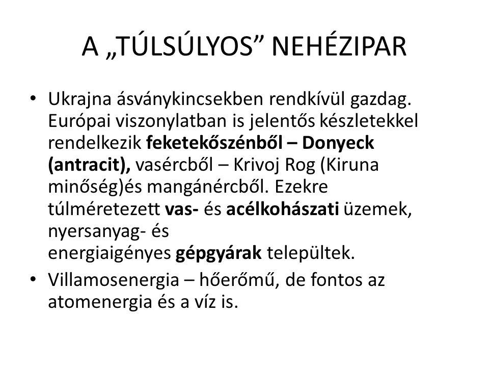 """A """"TÚLSÚLYOS NEHÉZIPAR"""