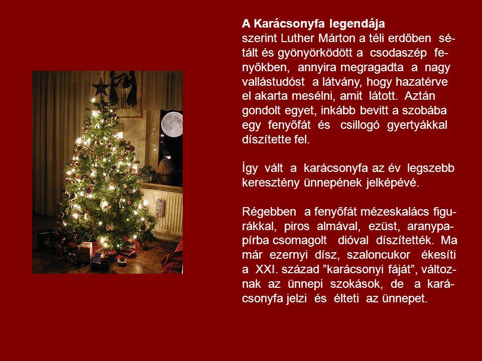 A Karácsonyfa legendája