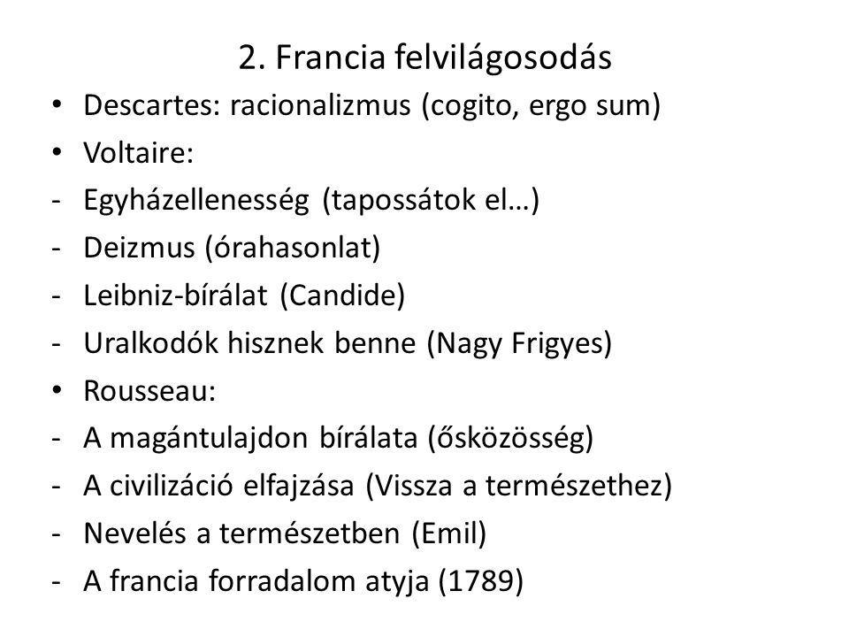2. Francia felvilágosodás