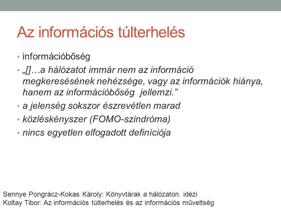 Az információs túlterhelés