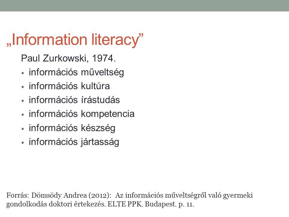 """Information literacy"